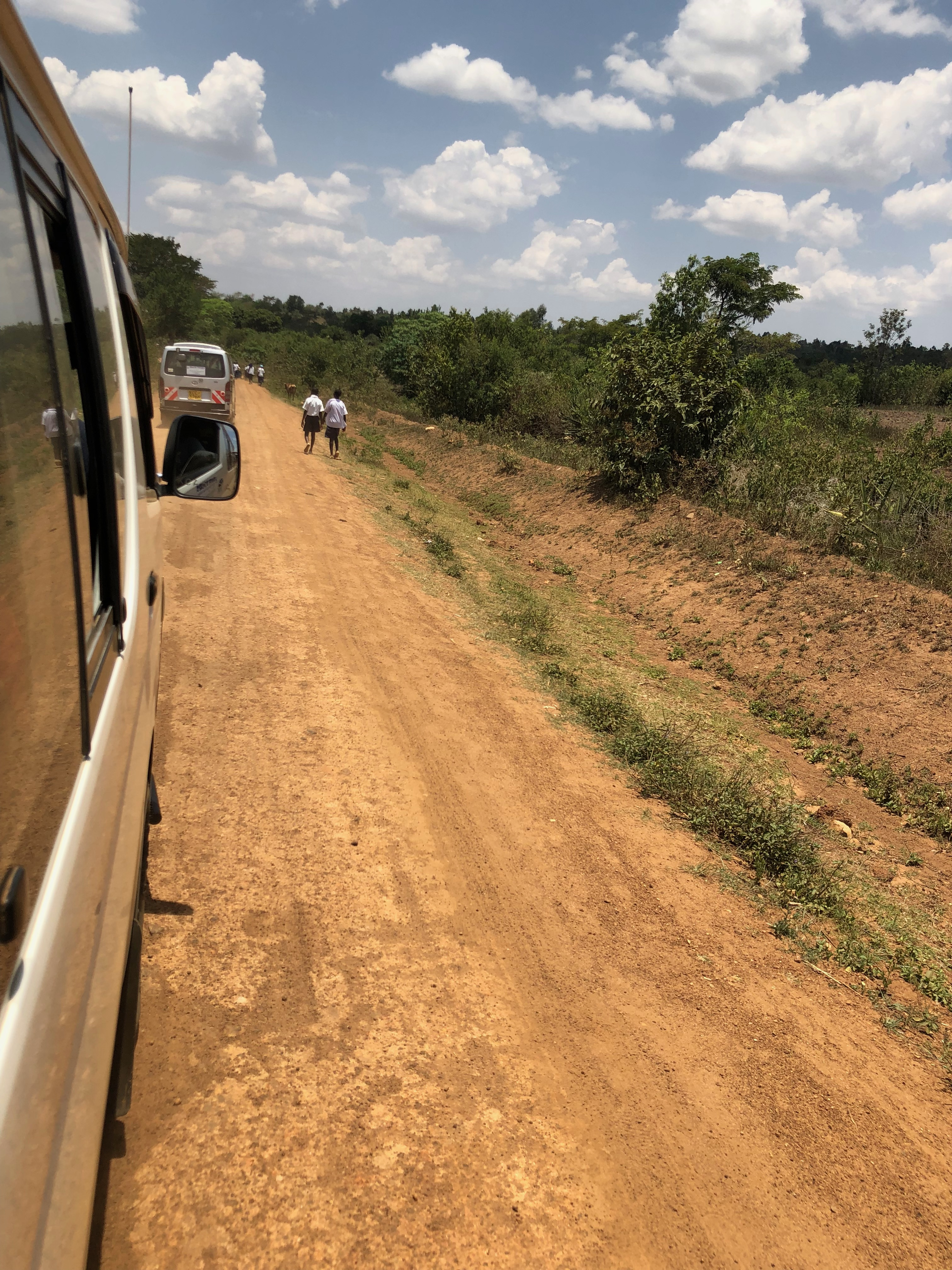 The long drive to Kopanga