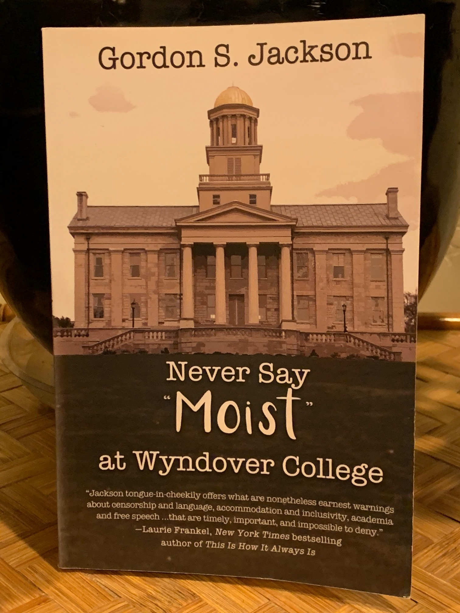 P4P volunteer and Board of Directors chair Gordon Jackson recently released a novel, Never Say Moist at Wyndover College